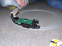 LEGO Emerald Train