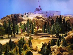 scale model of fantasyland