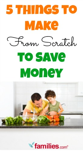 5 Things to Make From Scratch to Save Money