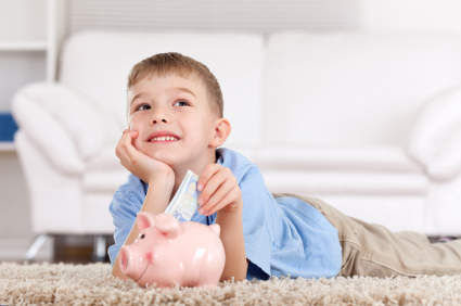 saving and investing with kids