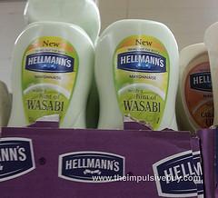 Hellmanns with Wasabi