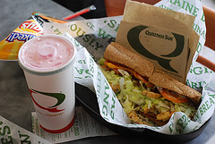 Quiznos Sub Drink Chips