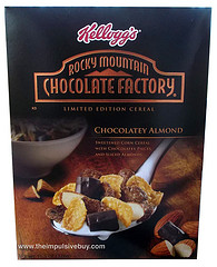 Kelloggs Rocky Mountain Chocolate Factory Cereal