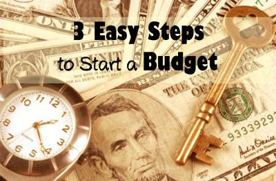 steps to a budget