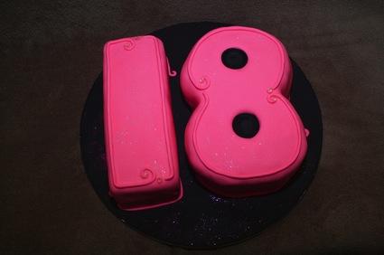 18th Birthday Cake Resized