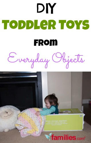 DIY Toddler Toys from Everyday Objects