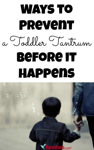 Ways to Prevent a Toddler Tantrum Before it Happens