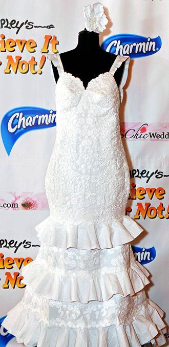 Charmin Toilet Paper Wedding Dress