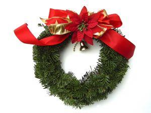 a simple christmas wreath wreath - Simple Christmas Wreaths