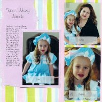 Scrapbooking Portrait Layouts
