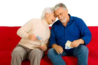 older couple money