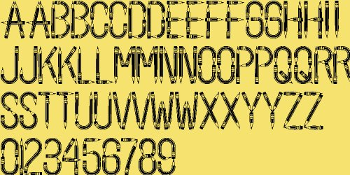 school fonts