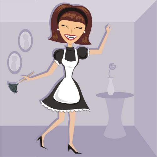 faking clean housekeeping families