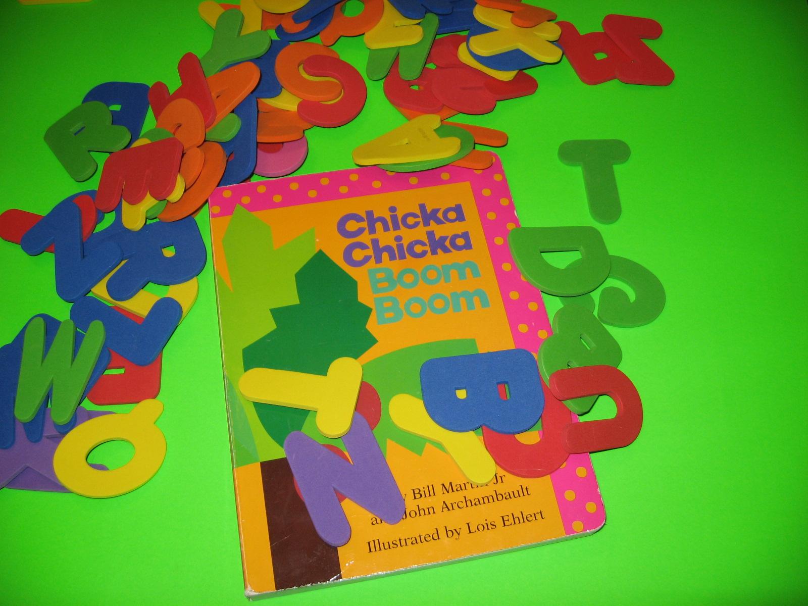 Chicka Chicka Boom Boom Activities Part 1 Homeschool ... - photo#26