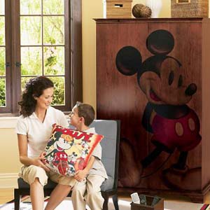 Do you love Disney? Not only can you incorporate some Disney Magic into your home, you can also make your home beautiful and inviting.