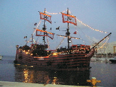 Cancun Vacation Pirate Dinner Cruise Travel Familiescom - Pirate ship cruise