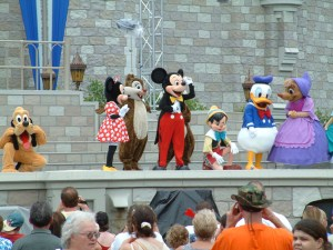 disney world show