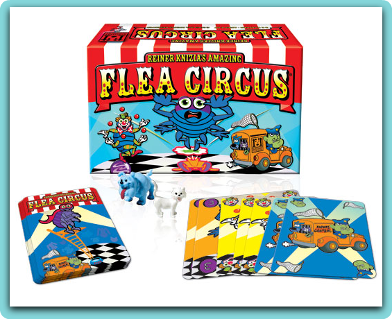 Family Game Night Flea Circus