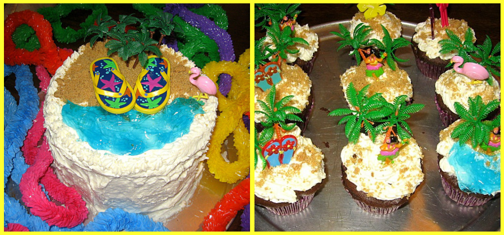 Summer Birthday Cake Hula Cake Pre School Familiescom