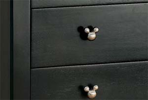 mickey drawer pull