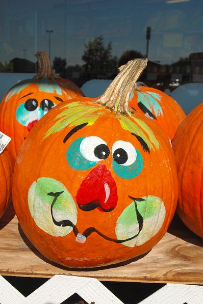 Decorating pumpkins without carving special needs for Decoration citrouille peinture