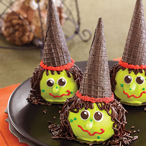 Looking for some easy last minute Halloween treats? Try the following ...