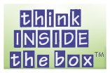 Think inside the box, sticker stadium