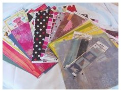 scrapbook papers, patterned papers